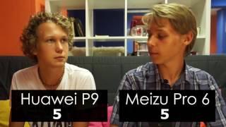 Huawei P9 vs Meizu Pro 6 Сравнение смартфонов