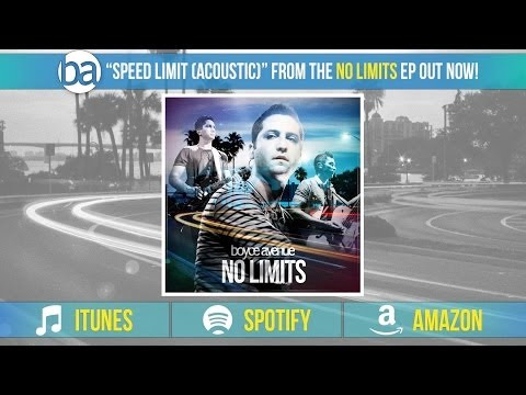 Boyce Avenue - Speed Limit (Acoustic)(Audio) on iTunes & Spotify