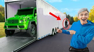 SPY WAGON SURPRISE REVEAL CAUGHT BY MYSTERY NEIGHBOR!! ($1 Million Dollars Safe)
