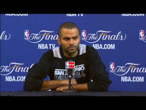 Tony Parker NBA Finals Press Conference: Where 'The Shot' in Game 1 ranks