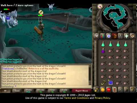 07 Old School Runescape Mithril Dragon Range Guide