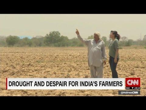 Desperate farmers wait for India's monsoon season