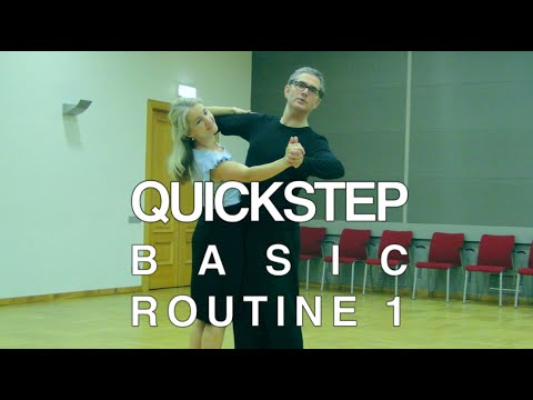 how to dance tango basic routine
