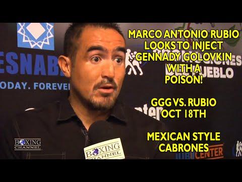 Marco Antonio Rubio looks to use power feints  everything to beat Golovkin i