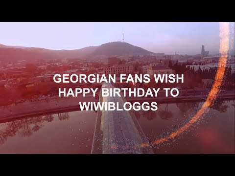 Georgian fans wish Happy Birthday to WIWIBLOGGS | wiwibloggs