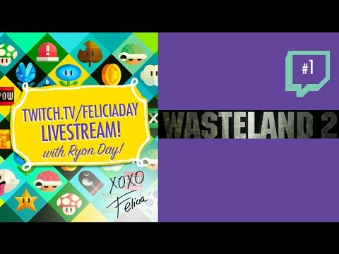Wasteland 2 Stream: #1 Solo Stream video