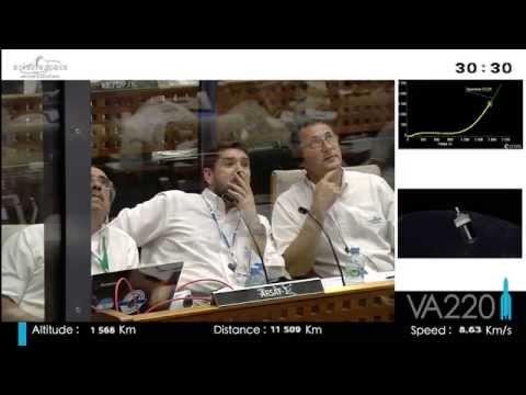 Arianespace Flight VA220 / Intelsat 30 & ARSAT-1 (VF)