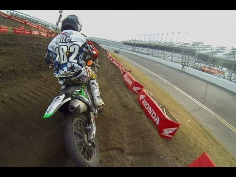 HELMET CAM: Alex Frye - Schoolboy 2 Main Event (RC Daytona Amateur SX)