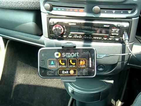 Smart Car Custom Bluetooth Android Car Mode App