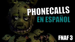 Todas las llamadas en español de Five nights at Freddy