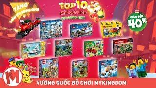 QUẢNG CÁO ĐỒ CHƠI LẮP RÁP LEGO | TOP 10 MÓN QUÀ GIÁNG SINH CHO BÉ TRAI