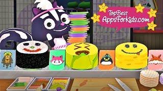 Funny Sushi for Kids 🍣  Emoji Smiley Maki 😀 Tofu Oh Sushi App