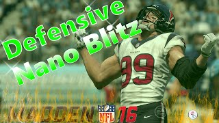 Madden 16: Big Dime 1-4-6 - Cover 2 Man - 4 Man A-Gap Heat! Fast/Easy Set-Up! Nano Blitz!