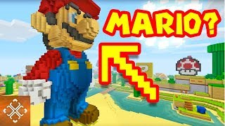 10 Times Nintendo Characters Were Spotted In Minecraft