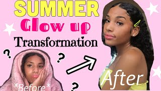 GLOW UP WITH ME FOR THE SUMMER!! *huge transformation*