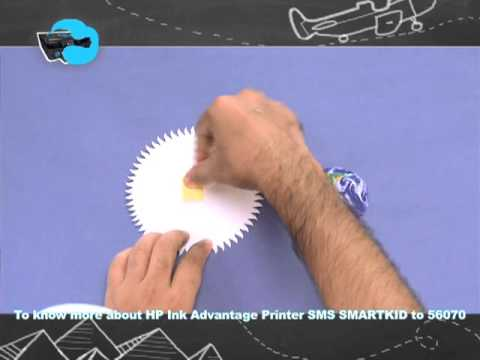 Hp Ink Advantage: Learn How To Make A Solar System With Mad's Rob! video