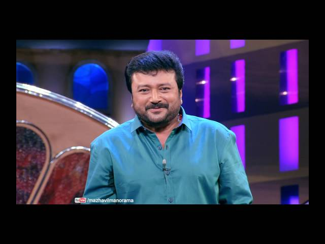 JAYARAM in CINEMAA CHIRIMAA on 5th & 6th November 8 pm