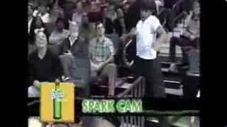 Kid possessed by Michael Jackson kills it for the jumbotron (Video)  MIAMI HEAT GAME