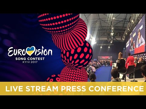Eurovision Song Contest 2017 - second Semi-Final winners' press conference