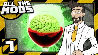 Minecraft All The Mods Nuclear #7 - The Brain Is A Wine Glass