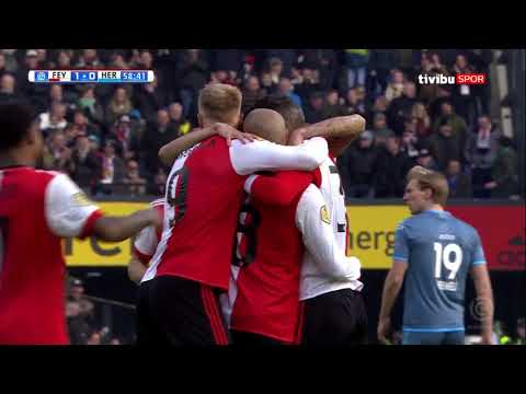 Hollanda Ligi 24. Hafta I Feyenoord 1-0 Heracles Maç Özeti