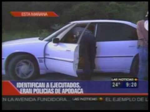 CInco policías ejecutados en Apodaca
