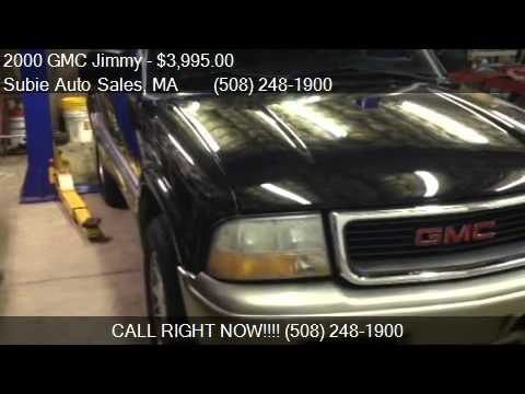 2000 GMC Jimmy SLE for sale in CHARLTON, MA 01507 at Subie A