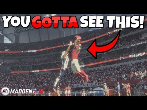 Madden 18 Exclusive Gameplay Julio Jones Unbelievable Catch In Superbowl