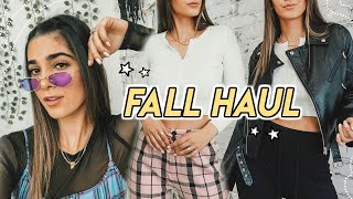 FALL CLOTHING HAUL ☆ fall jackets, cardigans, boots + more! ft. Princess Polly