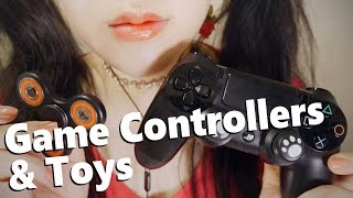 ASMR 9 Electronics & TOY Triggers 🎮