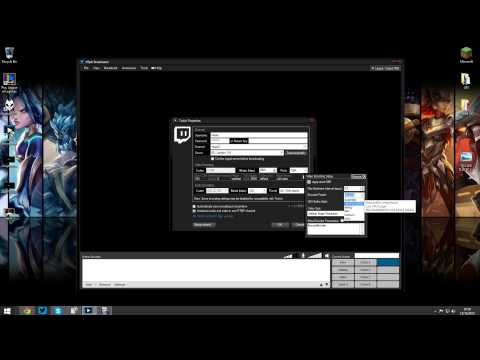 How to stream to Twitch using a HDPVR + Xsplit