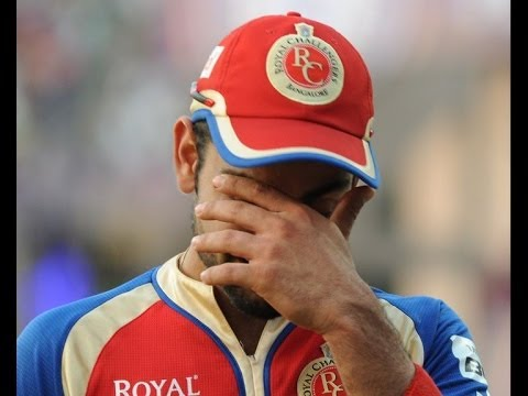 Virat Kohli cries as RCB out of IPL 7 - IANS India Videos