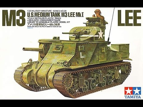 Tamiya : M3 LEE MkI : 1/35 Scale Model : In Box Review