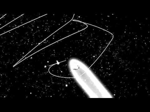 Rosetta's orbit around the comet 67P/Churyumov-Gerasimenko in August 2014