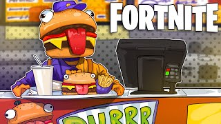 WELCOME TO DURR BURGER! -Fortnite Battle Royale