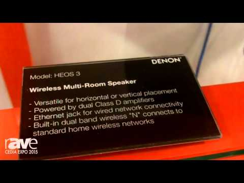CEDIA 2015: Heos by Denon Shows The Heos 5 Speaker for Full to Medium Sized Rooms
