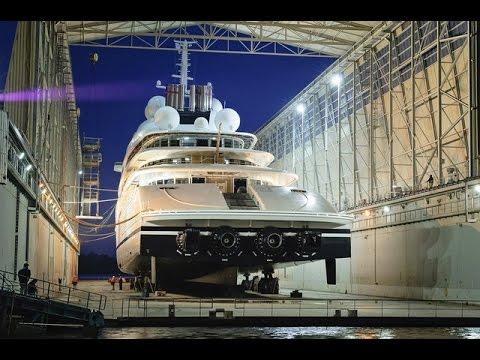 Azzam - El Yate de Lujo Más Grandes del Mundo - Canal Todo Navegación