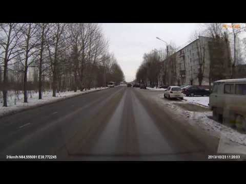 Северодвинск ДТП ИЖ ОДА ул. Карла Маркса пр. Морской