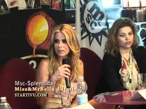 Loredana Lecciso madrina del concorso Missbellad'Italia e Misterbellod'Italia by Franco Buccinà.