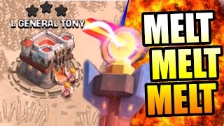 Clash Of Clans | THEY GOT MELTED! The Ultimate FAIL!