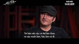 Alita: Thiên Thần Chiến Binh I James Cameron trò chuyện cùng đạo diễn Robert Rodriguez