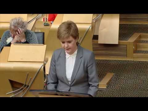 First Minister's Questions - Scottish Parliament: 30th June 2016