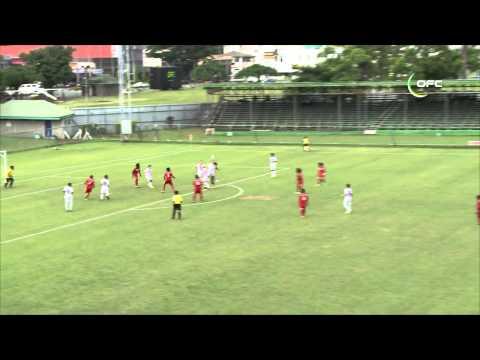 2013 OFC U 20 Championship Day 3 New Zealand vs New Caledonia Highlights