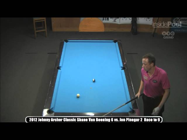 2012 Johnny Archer Classic  Shane Van Boening Vs. Jonathan Pinegar