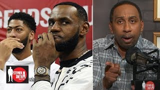 Stephen A.: LeBron & AD are a better duo, but the Clippers are better team |  Stephen A. Smith Show