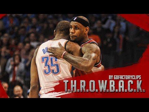 Lebron James vs Kevin Durant Full Duel Highlights 2013.02.14 Heat at Thunder - SICK!