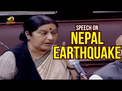 Sushma Swaraj Parliament Speech On India Nepal Relations | Full Speech | Madhesi Protest