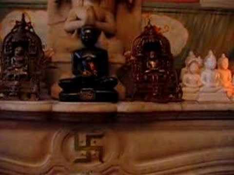 Namokar Mantra in home jain temple