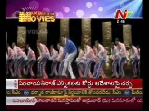 Chiranjeevis Tagore Movie Making Scenes