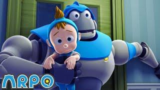 ZOMBIE ATTACK!!!!! - ARPO the Robot | 에피소드를보고 | 어린이를위한 만화 | Robot Kids Animation Series